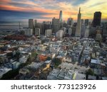 a spectacular aerial view of... | Shutterstock . vector #773123926