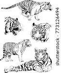 vector drawings sketches... | Shutterstock .eps vector #773126494