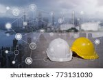 engineering technology concept... | Shutterstock . vector #773131030