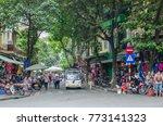 hanoi vietnam   november 5 2017 ...   Shutterstock . vector #773141323