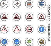 line vector icon set  ... | Shutterstock .eps vector #773169280