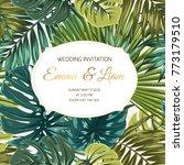 wedding marriage event... | Shutterstock .eps vector #773179510