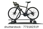 bike on the roof of a car ...   Shutterstock . vector #773182519