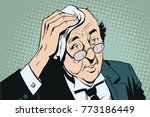 stock illustration. people in... | Shutterstock .eps vector #773186449