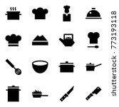 origami style icon set   hot... | Shutterstock .eps vector #773193118