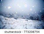 christmas and new year... | Shutterstock . vector #773208754