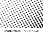 abstract futuristic halftone... | Shutterstock .eps vector #773214868
