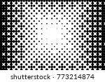 abstract futuristic halftone... | Shutterstock .eps vector #773214874