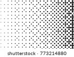 abstract futuristic halftone... | Shutterstock .eps vector #773214880