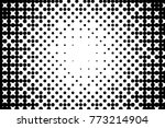 abstract futuristic halftone... | Shutterstock .eps vector #773214904