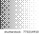 abstract futuristic halftone... | Shutterstock .eps vector #773214910