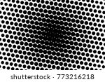 abstract futuristic halftone... | Shutterstock .eps vector #773216218