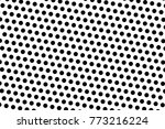 abstract futuristic halftone... | Shutterstock .eps vector #773216224