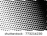 abstract futuristic halftone... | Shutterstock .eps vector #773216230