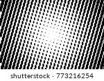 abstract futuristic halftone... | Shutterstock .eps vector #773216254