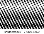 abstract futuristic halftone... | Shutterstock .eps vector #773216260