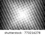 abstract futuristic halftone... | Shutterstock .eps vector #773216278
