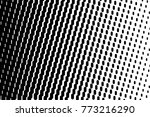 abstract futuristic halftone... | Shutterstock .eps vector #773216290