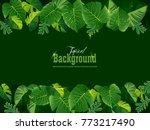 spring or summer season... | Shutterstock .eps vector #773217490
