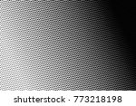 abstract futuristic halftone... | Shutterstock .eps vector #773218198