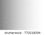 abstract futuristic halftone... | Shutterstock .eps vector #773218204