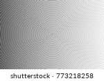 abstract futuristic halftone... | Shutterstock .eps vector #773218258