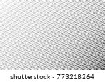 abstract futuristic halftone... | Shutterstock .eps vector #773218264