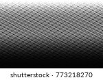 abstract futuristic halftone... | Shutterstock .eps vector #773218270
