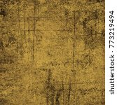 brown grunge background. dirty... | Shutterstock . vector #773219494