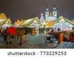 Christmas In Prague On The Old...