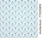 seamless geometric dots   Shutterstock .eps vector #773250850
