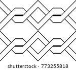 design seamless monochrome... | Shutterstock .eps vector #773255818