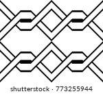 design seamless monochrome... | Shutterstock .eps vector #773255944