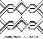 design seamless monochrome... | Shutterstock .eps vector #773256448