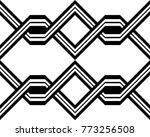 design seamless monochrome... | Shutterstock .eps vector #773256508