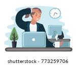 vector cartoon illustration of... | Shutterstock .eps vector #773259706