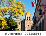 the historic town of tequila ... | Shutterstock . vector #773266966
