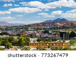 the historic town of tequila ... | Shutterstock . vector #773267479