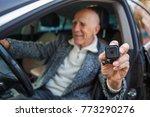 close up of a mini camera in... | Shutterstock . vector #773290276