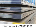 steel plate structure   Shutterstock . vector #773294929