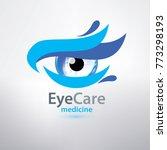 eye care logo template ...   Shutterstock .eps vector #773298193