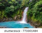 top view long exposure of... | Shutterstock . vector #773301484