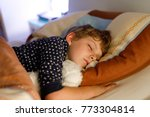 little preschool kid boy... | Shutterstock . vector #773304814