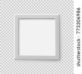 realistic square empty picture... | Shutterstock .eps vector #773306986