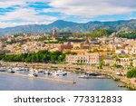 View of Messina, Sicily, Italy