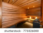 sauna  apartment hotel... | Shutterstock . vector #773326000