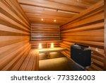 sauna  apartment hotel... | Shutterstock . vector #773326003