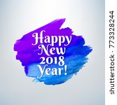new year banner with gradient... | Shutterstock .eps vector #773328244