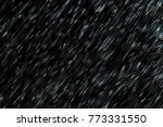 texture of rain and fog on a... | Shutterstock . vector #773331550