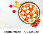 valentine holiday food concept  ... | Shutterstock . vector #773336020